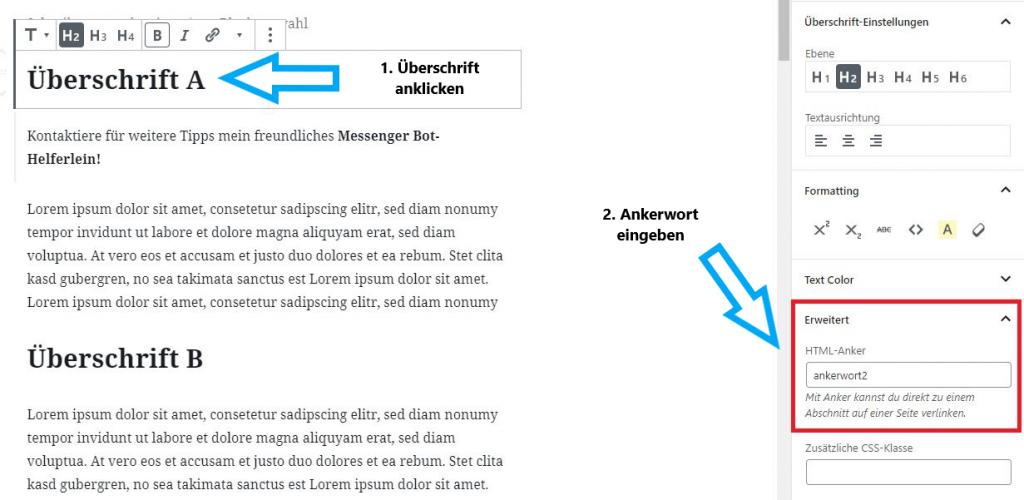 wordpress-anker-setzen-gutenberg-schritt2