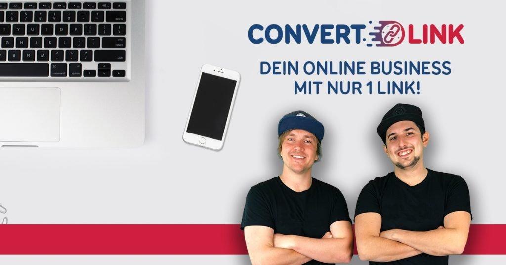Link kürzen mit ConverLink Banner
