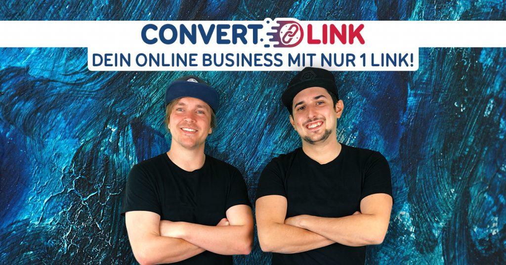 Link kürzen mit ConvertLink Banner
